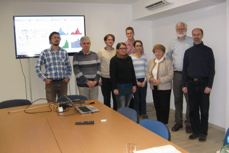 Short visit of Prof. E. Williams from MIT