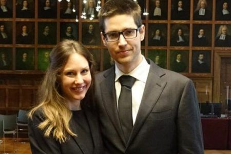 Two young researchers joined to the Institute of Earth Physics and Space Science